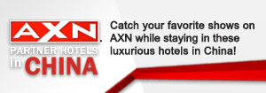 AXN Partner Hotels in China